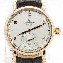 Chronoswiss Sirius 18k Rose Gold Ch1021r Mechanical White Dial...