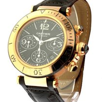 Cartier Pasha 42mm Seatimer Chronograph in Rose Gold