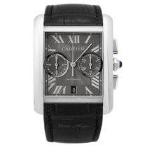Cartier Tank MC Chronograph Steel 34.3mm X 44mm