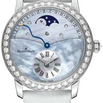 Blancpain Ladies Retrograde Calendar Moonphase 3653-1954L-58b