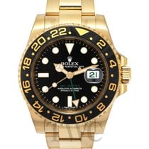 勞力士 (Rolex) GMT-Master II Black/18k gold Ø40mm - 116718LN