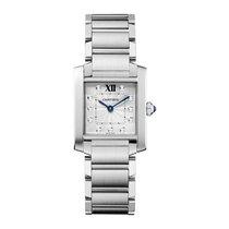 Cartier Tank Francaise Quartz Ladies Watch Ref WE110007