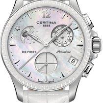 Certina DS First Lady Keramik Chrono Mondphase C030.250.16.106...