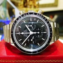 Omega Speedmaster Professional Moonwatch Sapphire Back Watch...