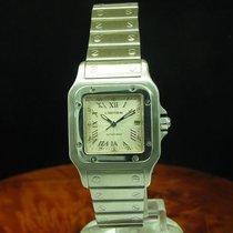 Cartier Santos Galbee Edelstahl Automatic Herrenuhr Inkl....