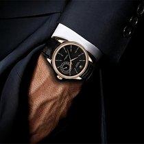 Rolex Cellini Date Black Dial 18kt Everose Gold Men's Watch