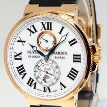 Ulysse Nardin Maxi Marine Chronometer 18k Rose Gold Mens Watch...