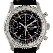 Breitling Navitimer World Chronograph Stahl Automatik Armband...