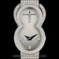 De Grisogono 18k W/G Fully Loaded Diamond Set Be Eight Ladies...