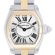Cartier Roadster Steel & Gold Ladies Small 30mm Quartz...