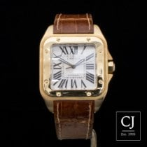 Cartier Santos 100 Large Size Yellow Gold
