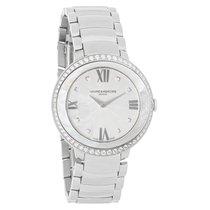 Baume & Mercier Promesse Ladies Diamond Bezel Quartz Watch...