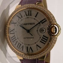 Cartier BALLON BLUE PG XL DIAMONDS LEATHER WE900851