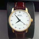 Mido Baroncelli men's automatic rose gold plated date watch