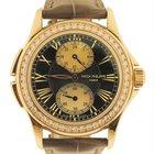"""Patek Philippe Ladies 18k Pink Gold """"Travel Time"""" w/..."""