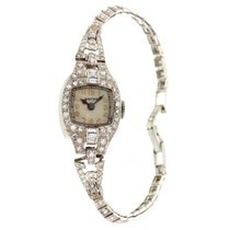 Waltham Ladies Vintage Platinum & Diamonds Waltham Watch