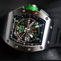 Richard Mille RM11-01 Titanium Mancini GMT Flyback Chronograph