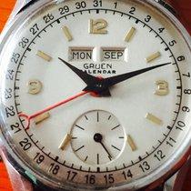 Gruen Polex-GRUEN  watch Co - triple calendar