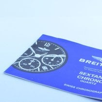 Breitling Anleitung Manual Chrono Sextant Vintage