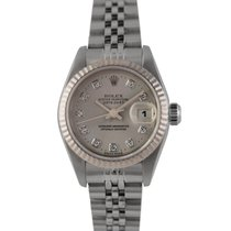 Rolex Datejust Ladies with Original Silver Diamond Dial...