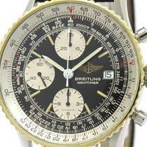 ブライトリング (Breitling) Polished Breitling Old Navitimer 18k Gold...