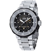 Oris Men's 761 7682 7154-SET Prodiver Turnig The Tide Watch