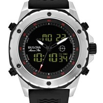 Bulova Mens Analog Digital Marine Star Chronograph with Alarm...