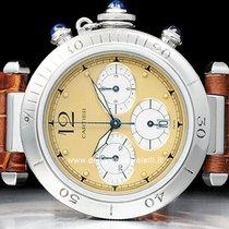 Cartier Pasha 38mm Chronograph  Watch  1050