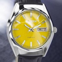 Citizen Day Date Manual Wind Mens Japanese Vintage Watch...