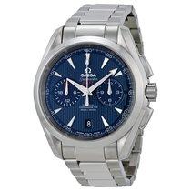 Omega Seamaster Aqua Terra Chronograph GMT Mens Watch 231.10.4...