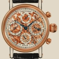 Chronoswiss Skeletonizing Opus Chronograph Rose Gold Steel