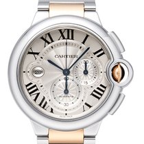 Cartier Ballon Bleu XL 44MM Chronograph Automatic Men's...