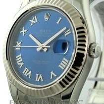 Rolex Datejust II Stainless Steel Blue Dial 41mm Ref. 116334