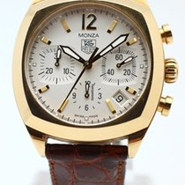 TAG Heuer Monza Chronograph 18K Gold Limited Edition Automatic