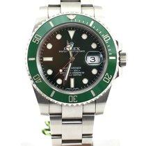Rolex Submariner Green dial green bezel Hulk 116610LV NEW