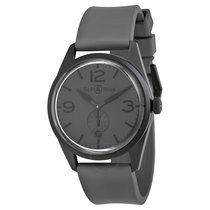 Bell & Ross Vintage Commando Grey Dial Men's Watch