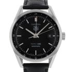 TAG Heuer Carrera Twin-Time Steel Automatic