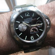 Panerai LUMINOR 44 P RESERVE AUT STI STI BK Steel-Titanium Watch