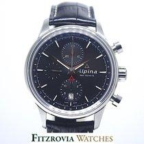 Alpina Alpiner Chronograph AL-750X4E6 UNORN B&P 2yr Intl wty