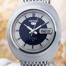 Seiko 5 Jumbo Automatic 1970 Watch 21 Jewels Japan #j57