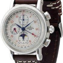 Zeno-Watch Basel -Watch Herrenuhr - Nostalgia Chronograph full...