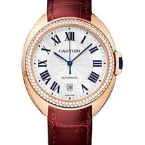 Cartier WJCL0012 Cle de Cartier 40mm in Rose Gold with Diamond...