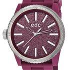 EDC EE100922018 Glitter Star Deep Burgandy Damenuhr 42 mm