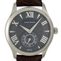 Louis Erard 1931 Small Second Stahl Handaufzug 40mm