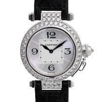 Cartier Pasha Diamond 18kt White Gold Ladies