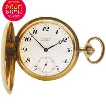 Movado Pocket Watch 18K Gold