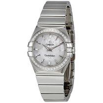 Omega 12315276005002 Constellation Diamonds Ladies Watch