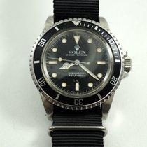 Rolex 5513 Submariner stainless steel 5512 caseback c.1985