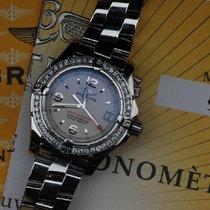 Breitling Colt Oceane Quartz Damen Uhr 32mm + Brillianten +...