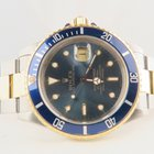 Rolex Submariner 18k Gold Steel Blue Dial